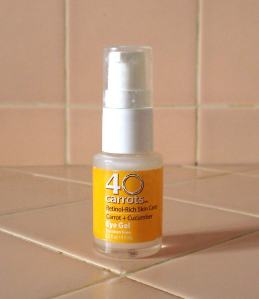 40 Carrots Carrot + Cucumber Eye Gel Caulfield's Counter Product Review