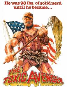 The Toxic Avenger Caulfields Counter Paraben