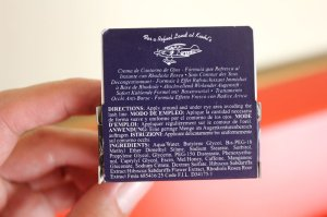 Kiehls Facial Fuel Eye De-Puffer Ingredients List Product Review Caulfields Counter