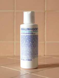 malin and goetz vitamin e moisturizer product review caulfields counter salicylic acid male skincare sensitive skin acne prone breakouts & +