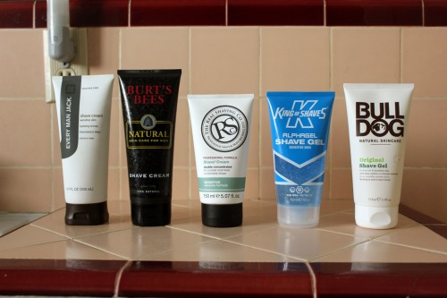 5 Awesome Shave Creams and Gels for Under $10 Caulfields Counter Shaving mens grooming male skincare product reviews