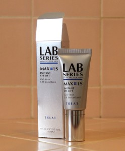 Lab Series Skincare for Men Max LS Instant Eye Lift Cream Gel Male Mens Caulfields Counter Product Review 01