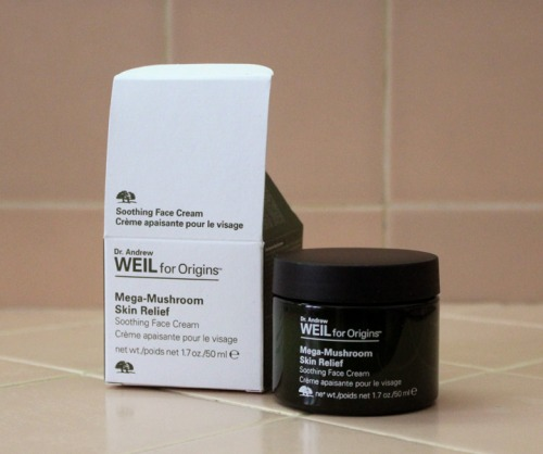 Dr Andrew Weil Origins Mega Mushroom Skin Relief Soothing Face Cream Review Caulfields Counter Male Skincare