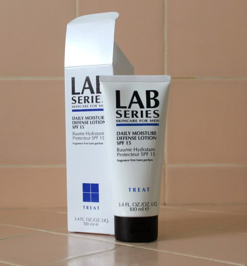Lab Series Skincare for Men Daily Moisture Defense Lotion SPF 15 Review Caulfields Counter Mens grooming male sunscreen anti-aging