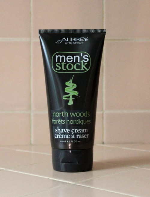 Aubrey Organics Men's Stock North Woods Shave Cream Giveaway Contest Competition Review Caulfields Counter Mens Grooming Shaving Male Skincare