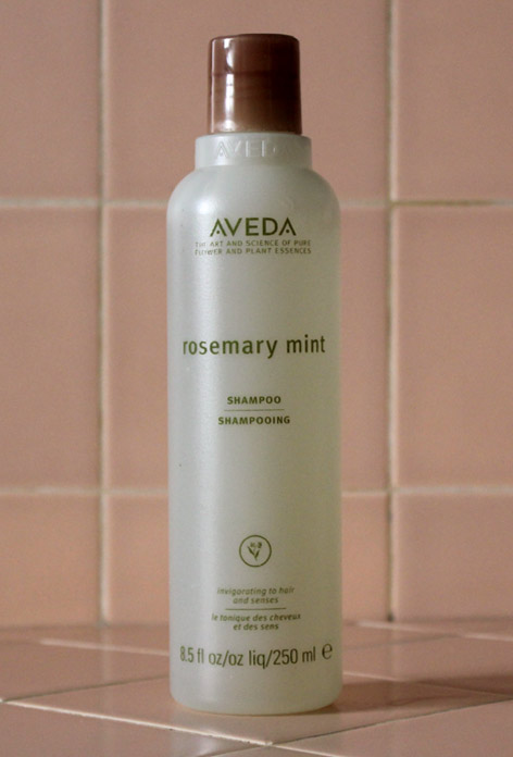 Aveda Rosemary Mint Shampoo Review Caulfield's Counter Haircare Hair Dandruff Cooling Men Women