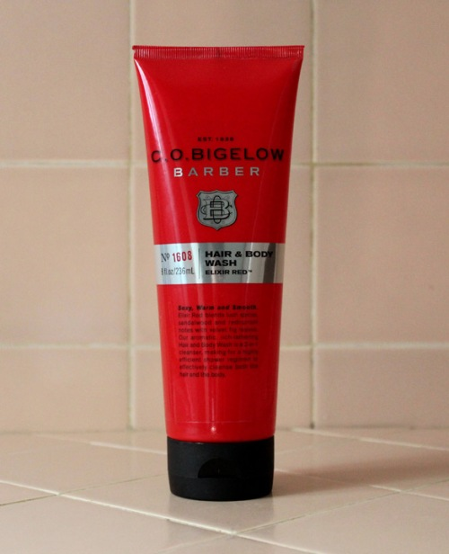 C.O. Bigelow Barber Hair & Body Wash Elixir Red No. 1608 Review Caulfields Counter Male Skincare mens grooming