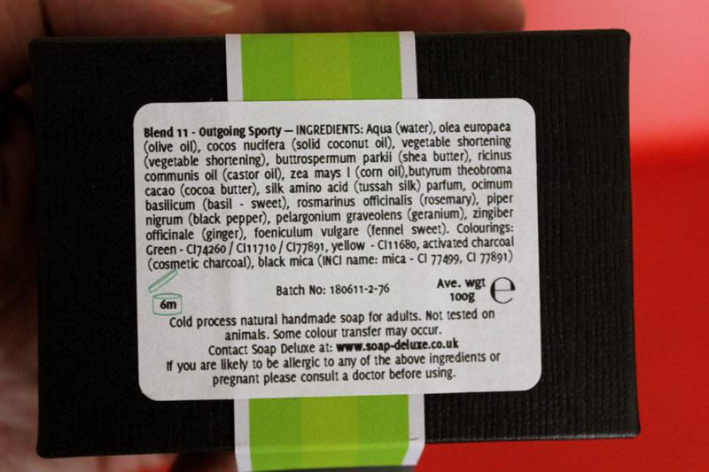 Green Natural Skin Care Bar