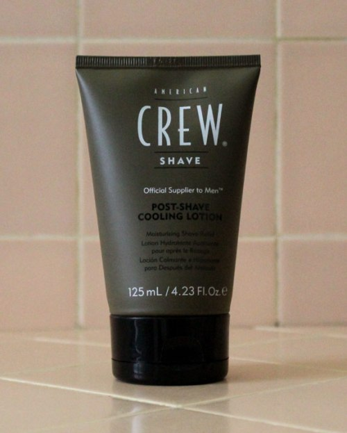 American Crew Post-Shave Cooling Lotion Review Caulfield's Counter mens grooming male skin care skincare shaving men