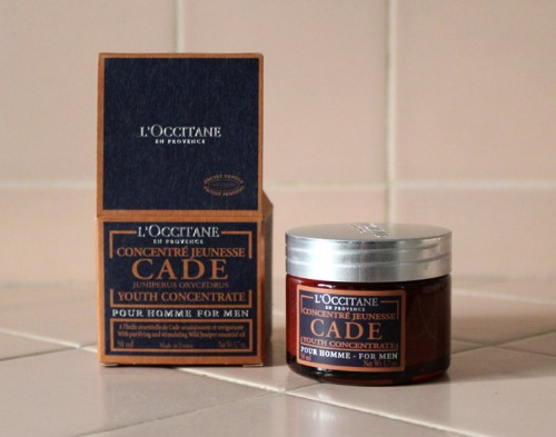 L'Occitane CADE Youth Concentrate For Men review Caulfields Counter mens grooming male skincare