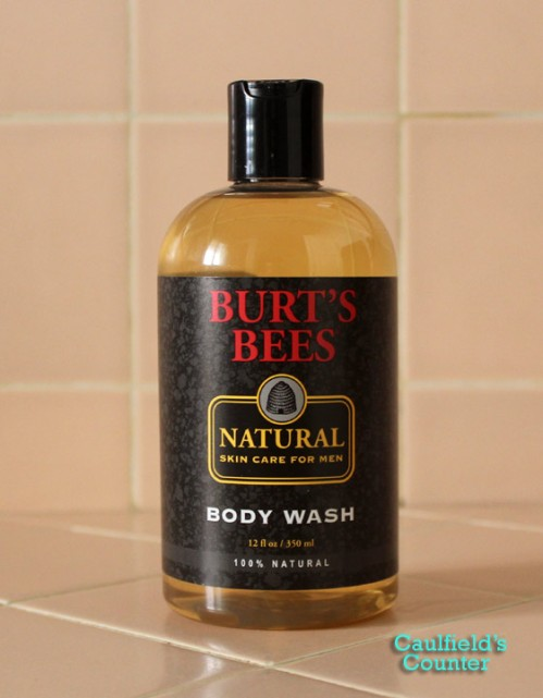 Burts Bees Natural Skin Care for Men Body Wash Review Caulfields Counter Grooming