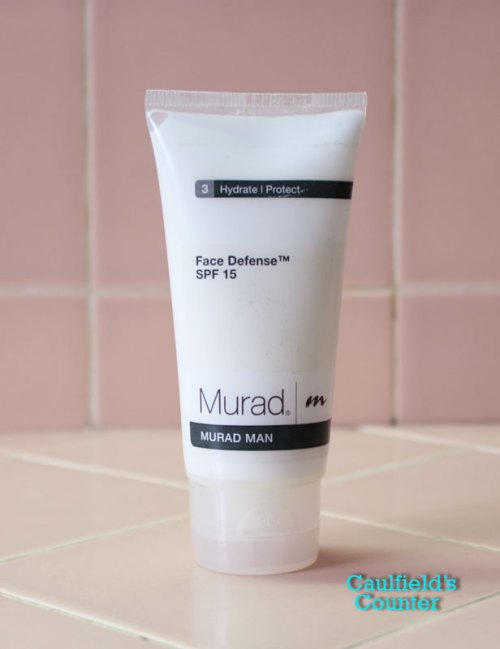 Murad Man Face Defense SPF 15 sunscreen sunblock men's grooming male skincare moisturizer lotion
