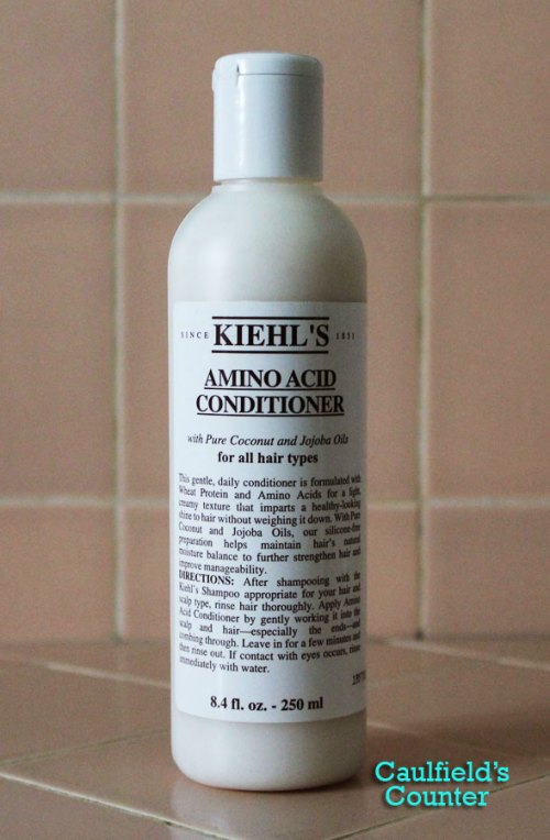 Kiehl's Amino Acid Conditioner Review Caulfield's Counter Beta Naturals Argan Oil Josie Maran Moroccanoil Moroccan Oil