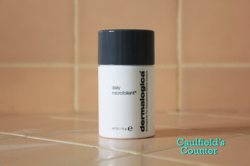 Dermalogica Daily Microfoliant review face scrub exfoliant male skincare Caulfield's Counter men's grooming
