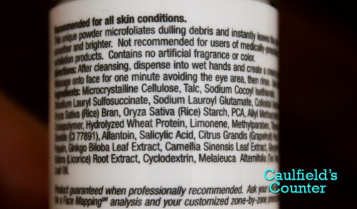 Dermalogica Daily Microfoliant Ingredients List review male skincare men's grooming Caulfield's Counter