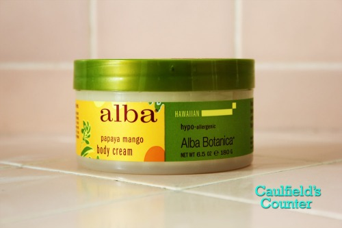 Alba Botanica Hawaiian Papaya Mango Body Cream Review on Caulfield's Counter