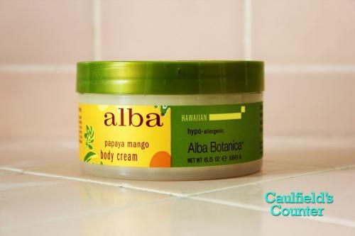 Alba Botanica Hawaiian Papaya Mango Body Cream Review on Caulfield's Counter
