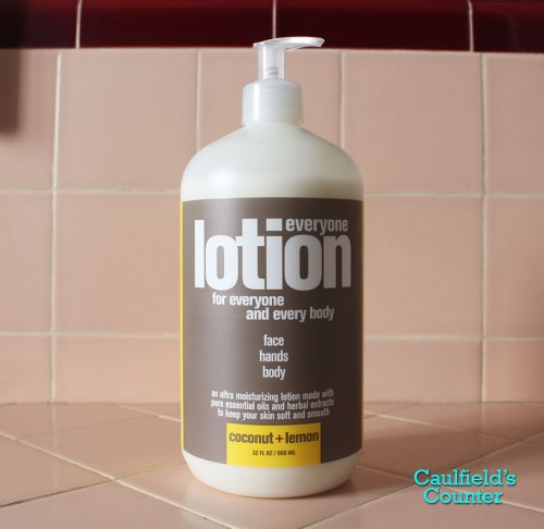 EO Everyone Lotion Coconut and Lemon review Caulfield's Counter