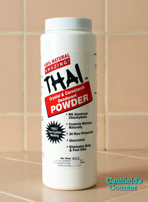Thai Crystal & Cornstarch Deodorant Powder Review
