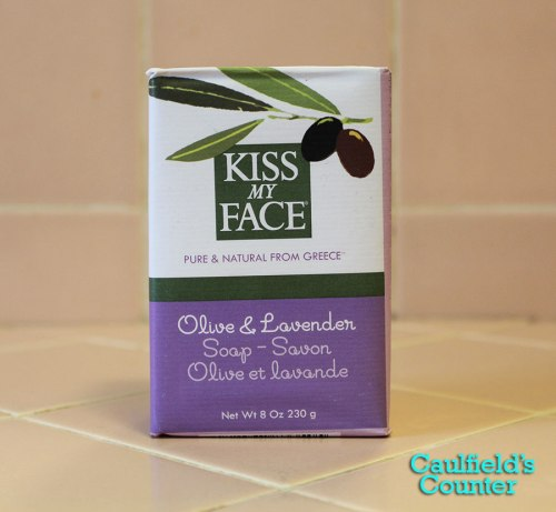Kiss My Face Olive & Lavender Bar Soap Review