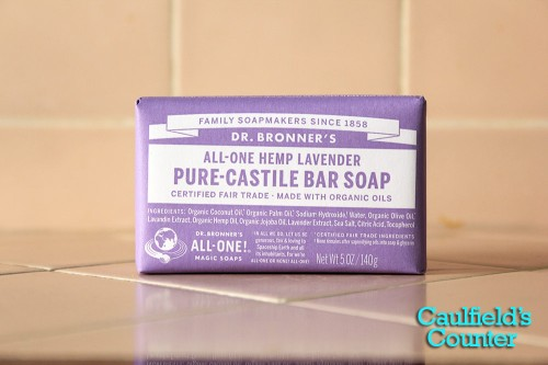 Lavender Pure-Castile Bar Soap Review Photo